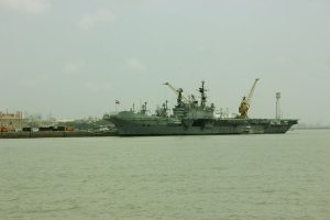 INS Kesari returns to Port Louis, Mauritius to embark Indian Navy Medical Team