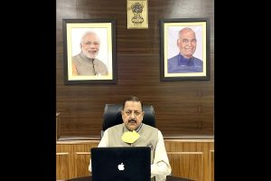 Awareness, not anxiety is key to fighting COVID-19: Jitendra Singh at launch of COVID BEEP