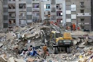 22 dead after four-decade-old building collapses in Karachi; several injured