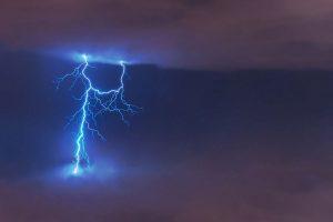 Awareness against lightning strikes