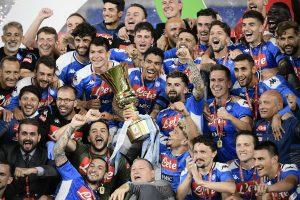 Napoli stun Serie A champions Juventus 4-2 on penalties to lift Coppa Italia 2019-20