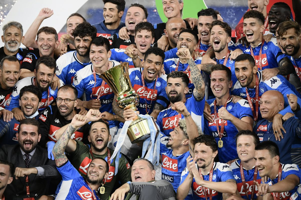 Napoli Stun Serie A Champions Juventus 4 2 On Penalties To Lift Coppa Italia 2019 20