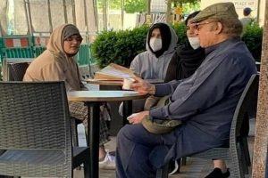 Nawaz Sharif's viral photo having tea in cafe sparks debate over his health in Pakistan