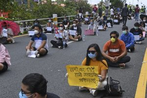 Seven foreigners arrested at anti-government protest in Nepal over COVID-19 crisis