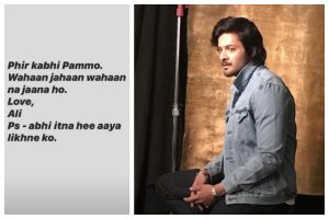 'Phir Kabhi Pammo': Ali Fazal's mother dies of health complications; actor pens heartfelt note