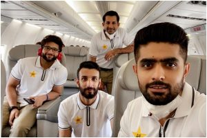 Pakistan cricket team depart for England without 10 COVID-19 positive players