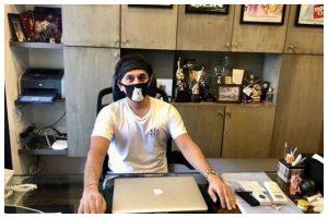 Filmmaker Ritesh Sidhwani resumes work at his office