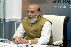 Rajnath Singh meets CDS, 3 service chiefs to review LAC standoff  with China before Russia visit