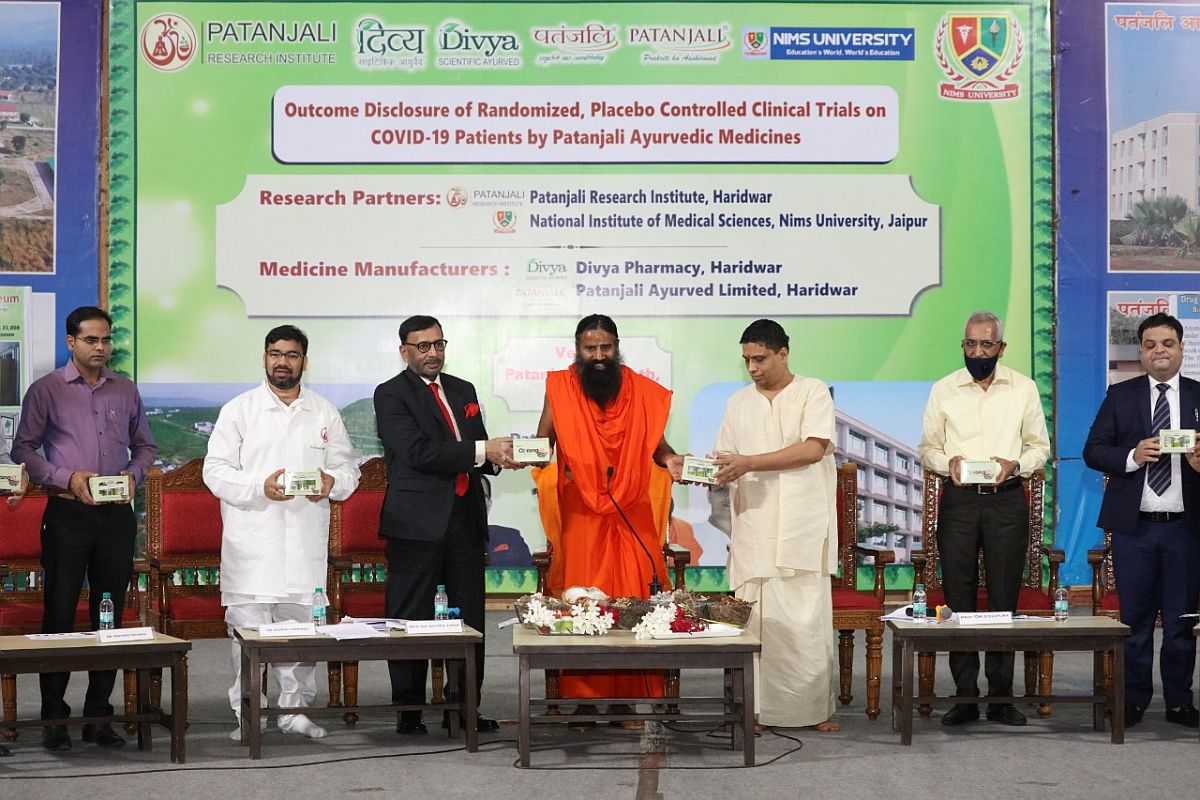 Ramdev Baba's Patanjali launches ayurvedic medicine for COVID-19