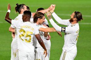 Sergio Ramos free-kick helps Real Madrid beat Mallorca 2-0, ride back to top of La Liga