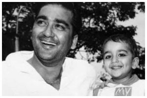 Sanjay Dutt shares childhood pic on dad Sunil Dutt's 91st birth anniversary