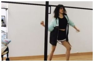 Watch | Sanya Malhotra receives dance videos from across the globe after giving tutorial online