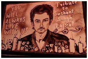 Sushant Singh Rajput demise: India's first sand animator Manas Kumar Sahoo pays tribute