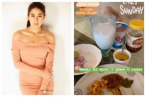 Lazy Sunday: Sara Ali Khan enjoys lockdown with desi meal