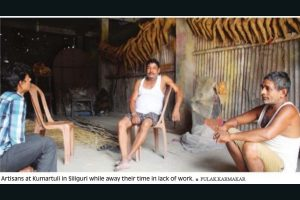 Covid set to spoil Siliguri Durga Puja plans