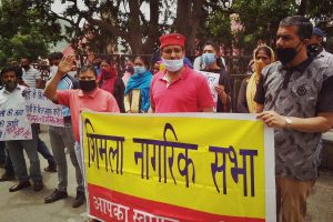 Shimla residents up in arms against inflated bills in COVID-19 crisis