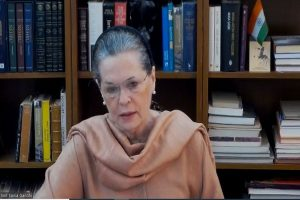 'Why were our 20 soldiers martyred,' asks Sonia Gandhi; 'fight with China, not us,' says Congress