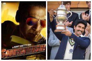 Akshay Kumar's Sooryavanshi and Ranveer Singh's 83' get new release dates