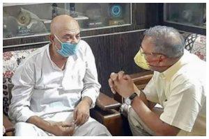 Veteran actor Nana Patekar visits Sushant Singh Rajput's family in Patna