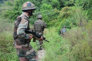 3 terrorists, holed up inside house, killed in encounter by security forces in J-K's Srinagar