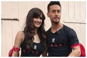 Happy Birthday Disha Patani: Tiger Shroff wishes his 'rockstar' with goofy video
