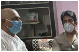 Shekhar Suman, Sandip Ssingh visit Sushant Singh Rajput's family, pay tributes to late actor