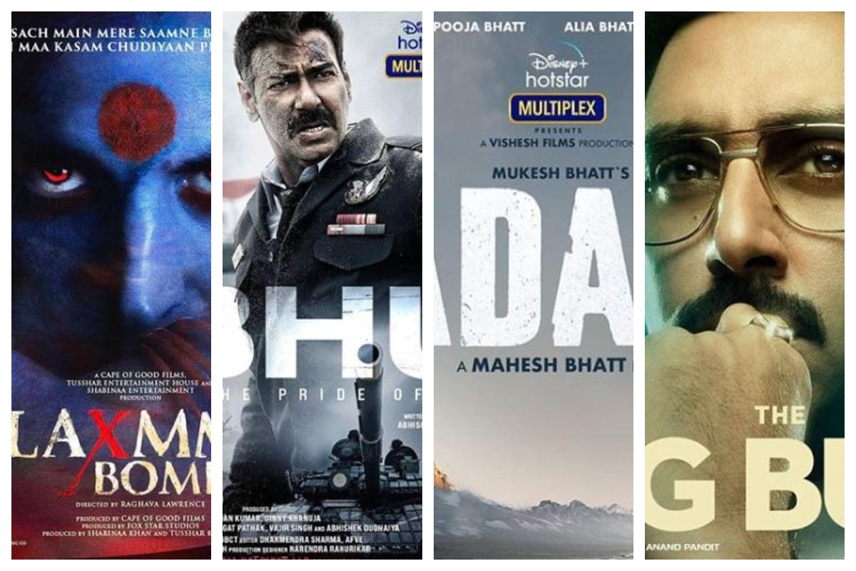 Alia Bhatt, Sadak 2, Akshay Kumar, Laxmmi Bomb, Ajay Devgn, Bhuj, Abhishek Bachchan, The Big Bull