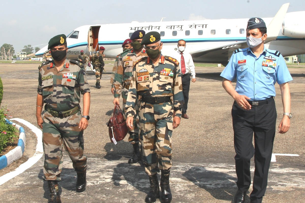 Chief of Army Staff, COAS, Upendra Dwivedi, internal security