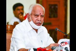 Karnataka Chief Minister BS Yediyurappa to 'work from home' after CMO staffers turn Covid positive