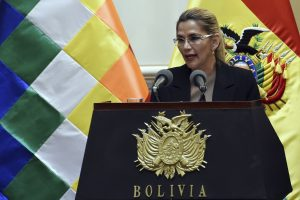 Bolivia President Jeanine Anez tests positive for Coronavirus, will remain in self quarantine