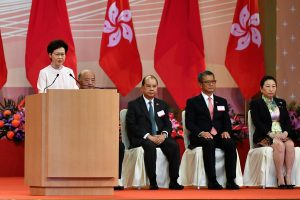 'Security law most important development for Hong Kong', says leader Carrie Lam
