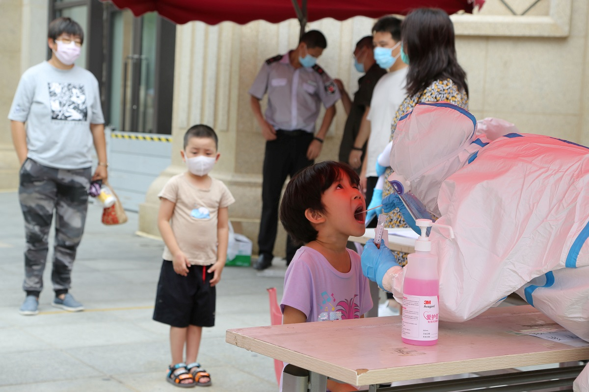 China Records Highest Surge of New Coronavirus Cases Since April