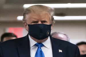 Donald Trump tweets image of himself wearing mask, calls it 'patriotic'
