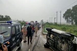 Cows, buffaloes caused accident of vehicle carrying Vikas Dubey to Kanpur: UP STF