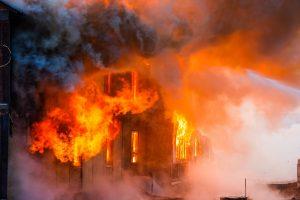 Fire in UP vegetable market, shops gutted