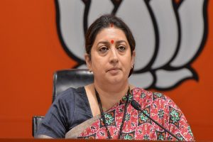 Congress preferred votes over lives of Muslim women: Smriti Irani