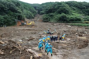 Japan braces for more torrential rains as death toll due to floods reaches 66