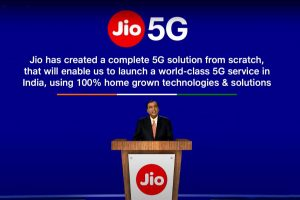 Jio has designed, developed complete 5G solution from scratch, says Ambani