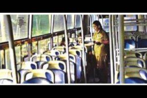 Lockdown jitters: Commuters stay away; buses run empty