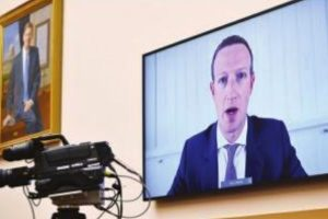 Big Tech CEOs grilled in historic US congressional hearing