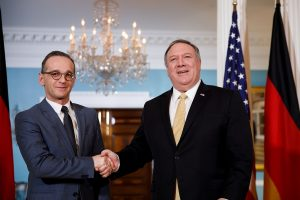 Mike Pompeo, German FM Heiko Maas discuss economic recovery, Libya