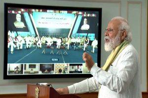 PM Modi inaugurates 750 MW solar project, Asia's biggest, in MP's Rewa; bats for self-reliant India