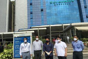Sachin Tendulkar inaugurates COVID-19 plasma therapy unit at Mumbai hospital
