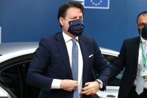 Italy PM Giuseppe Conte announces to extend Coronavirus state of emergency to Oct 15