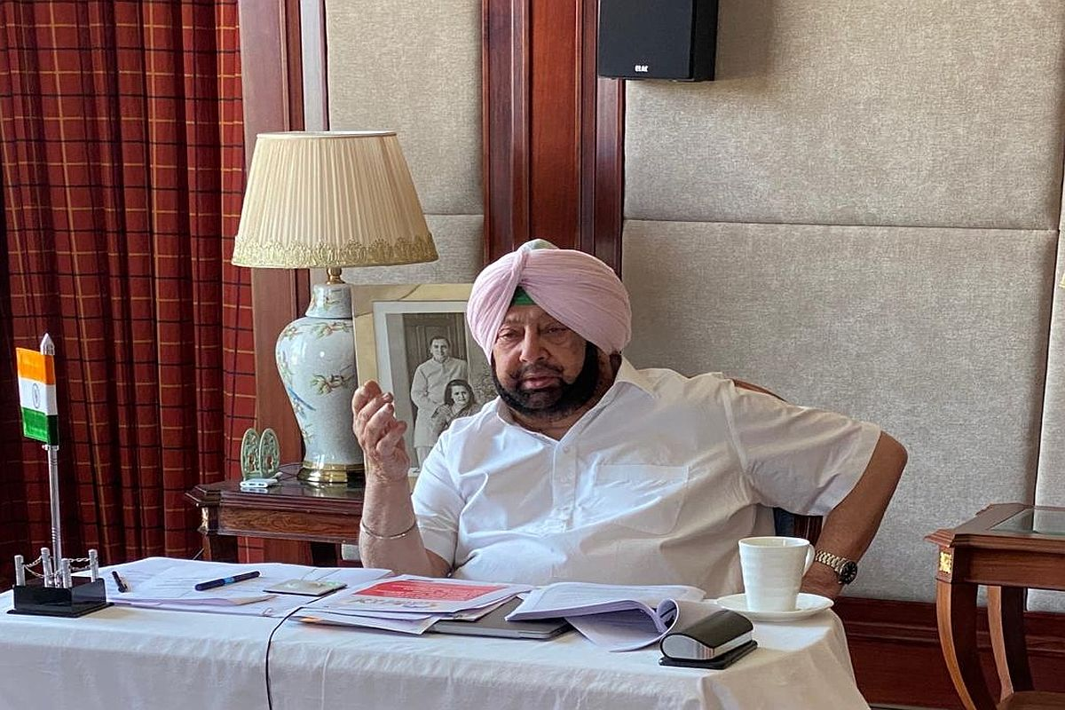 Punjab Chief Minister Captain Amarinder Singh, Covid cases, Covid vaccination, Covid appropriate protocols, superspreader events,