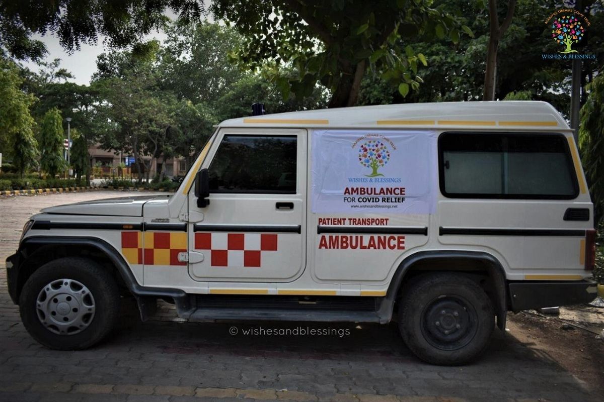 Free ambulance service, COVID-19 crisis, Wishes and Blessings, Delhi government