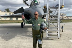 'New era in India's military history', says Rajnath Singh as 5 Rafale jets land at Ambala base