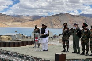 Talks on to diffuse India-China border dispute but can't guarantee extent of success: Rajnath Singh in Ladakh
