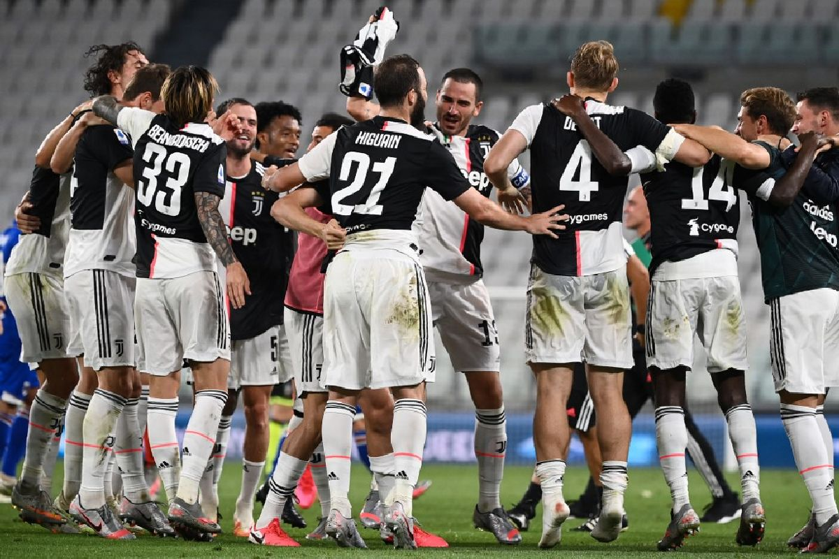 Juventus clinch ninth consecutive Serie A title
