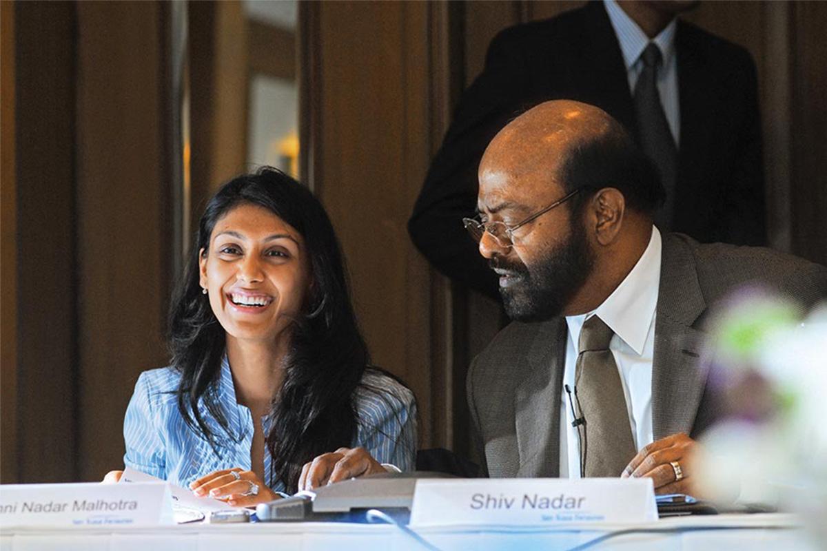 Shiv Nadar steps down as HCL Technologies Chairman; daughter ...